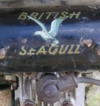 Tank - showing Seagull transfer detail.